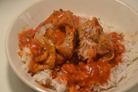 Osso Bucco dinde tomate recette cookeo