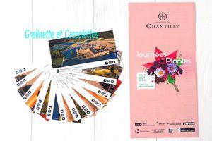 Qui veut gagner ses Entrées Coupe File pour les Journées des Plantes de Chantilly ?