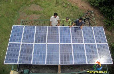 Dịch vụ lắp đặt điện năng lượng mặt trời quận 3