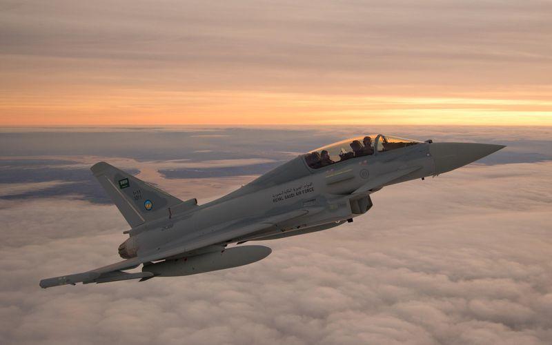 Un Eurofighter Typhoon saoudien s'est écrasé au Yémen lors d'une mission