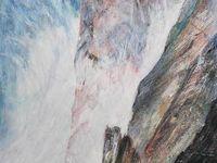 Lucienne Cywier, peintures 2009 / 2013 - Vagues