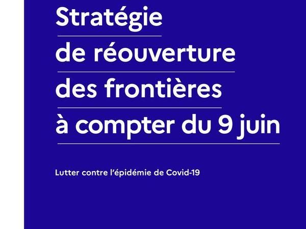 Stratégie de réouverture des frontières à compter du 9 juin