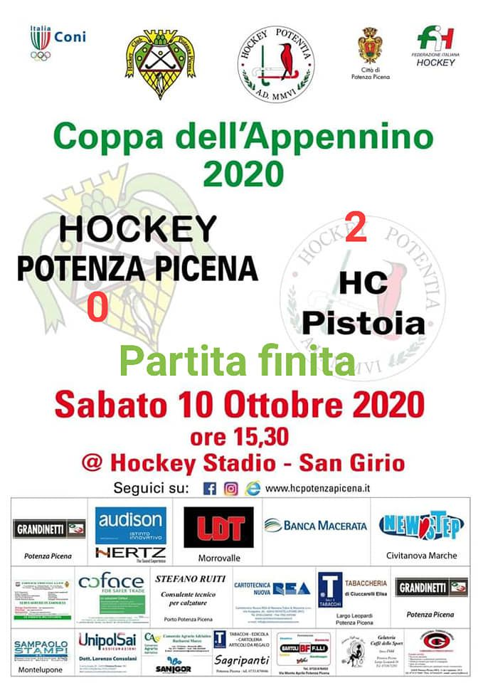 COPPA DELL'APPPENINO HOCKEY POTENZA PICENA - HOCKEY PISTOIA