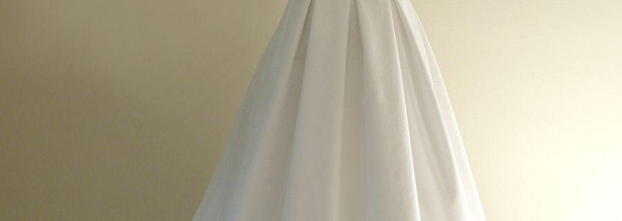 Robe de mariée Clotilde D. piqué de coton