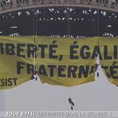 Action de Greenpeace : la sécurité à la Tour Eiffel remise en question