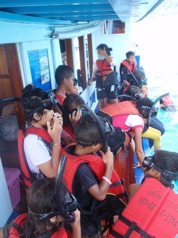 Un jour en bateau avec l'école