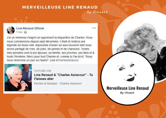 FACEBOOK LINE: Le magnifique Message de Line à Charles