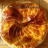 galette des rois frangipane et lemond curd - Le blog de lesdelicesdethithoad
