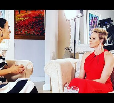 Top Billing sits down with HRH Princess Charlene | FULL INTERVIEW