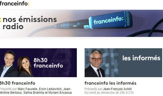 Radio : FranceInfo réalise sa meilleure année depuis 15 ans !