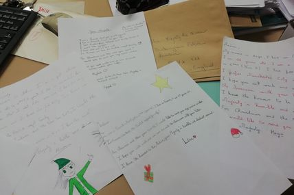 Letters for the British Royal Family!