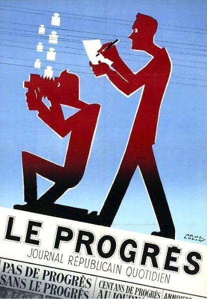 PUBLICITES : LES  GRANDS  NOMS  DE  L'AFFICHE...     Paul  COLIN.