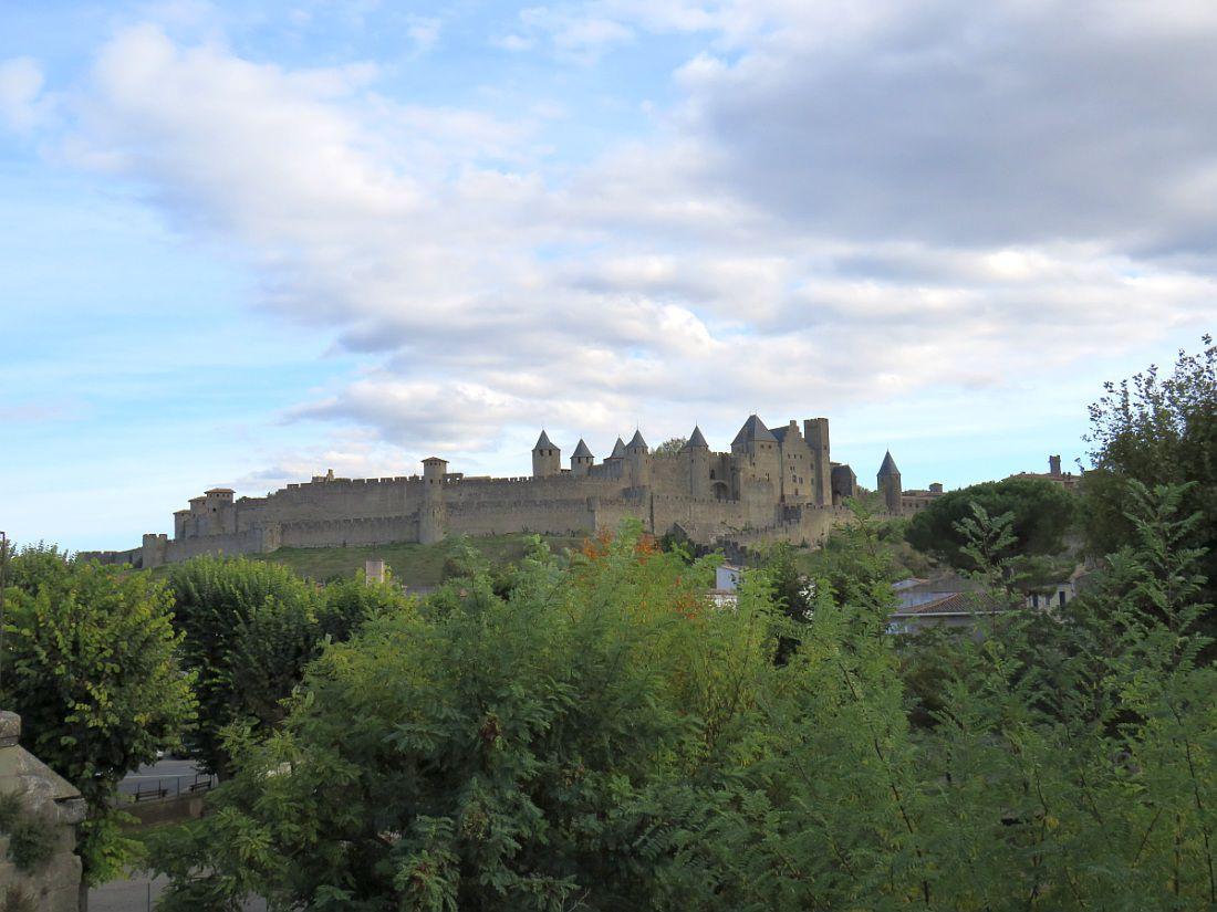 Inscrit au patrimoine mondial de l'UNESCO, ensemble architectural médiéval fortifié