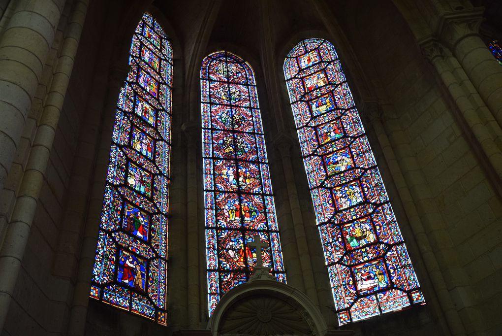 Quelques vitraux.