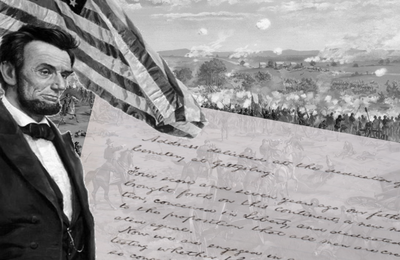Abraham Lincoln, discours de Gettysburg, ou hymne de l'Union nationale américaine