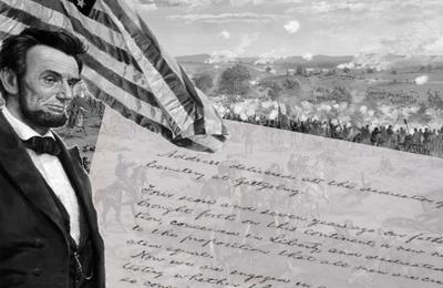 Abraham Lincoln, discours de Gettysburg, ou hymne de l'Union nationale américaine