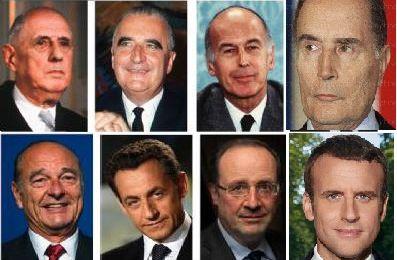 La légitimité d'Emmanuel Macron, par rapport à celle des autres présidents de la 5e république