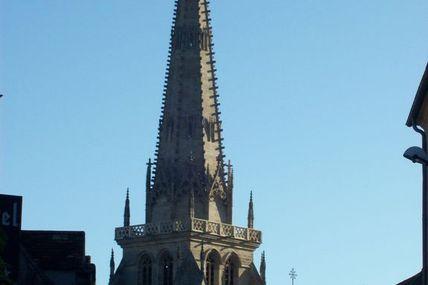 Quartier de la cathédrale : la rue Rivault.