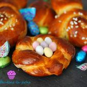 Brioche de Pâques - Choupi Cuisine