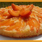 Moelleux abricot fleur d'oranger. - Oh, la gourmande..