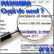 FUKUSHIMA - 14 juin 2011 - Quoi de neuf N°81 - Actualités en direct du nucléaire et de l'après nucléaire - NATURE(S)