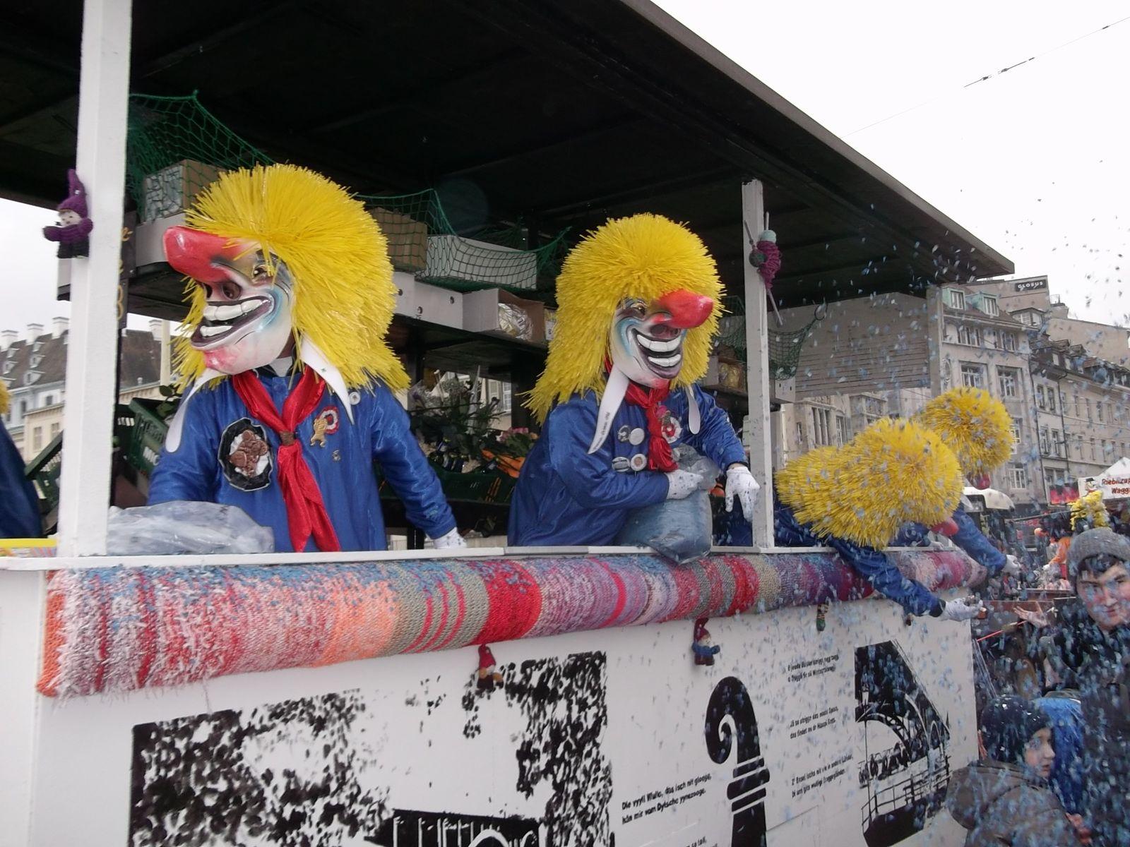 images du Carnaval de Bâle,  Un des plus beaux, à voir.