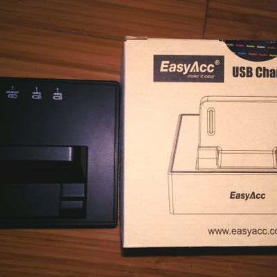 Functional with Fantastic Looks : Easyacc charging dock