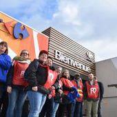 Social - Après sept heures de blocage, le Carrefour Voulx de Sens à nouveau accessible aux clients
