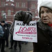 Plusieurs journalistes interpellés à Moscou lors d'une manifestation