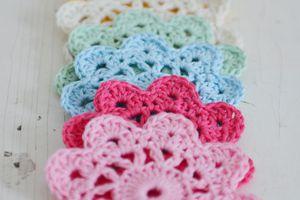 """Crochet : Patrons & modèles gratuits 65 """"Sous verres au crochet"""""""
