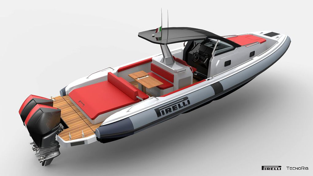 The new Pirelli 35 makes its debut on water