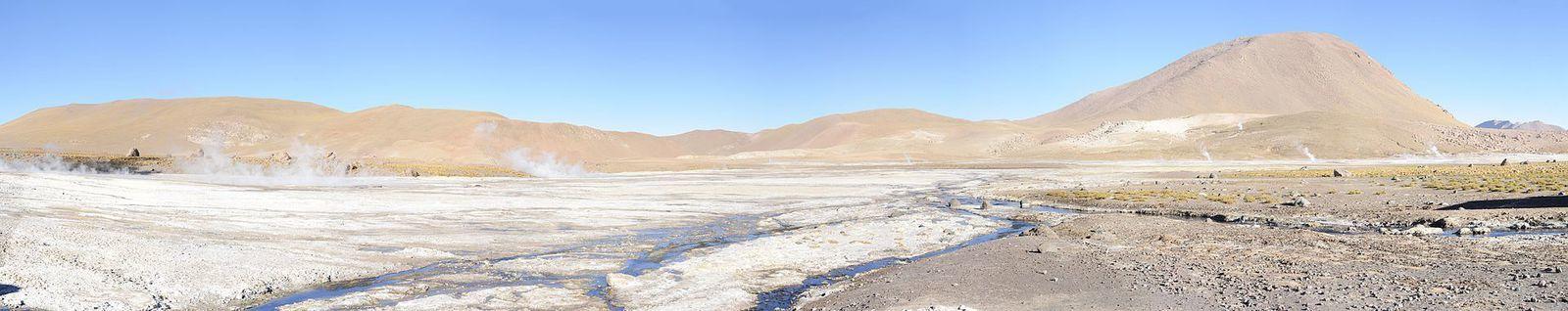 Zone volcanique centrale des Andes : Les volcans du nord du Chili