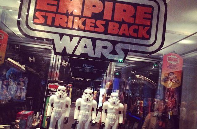 Aux Arts Décoratifs des Jouets Star Wars il y a