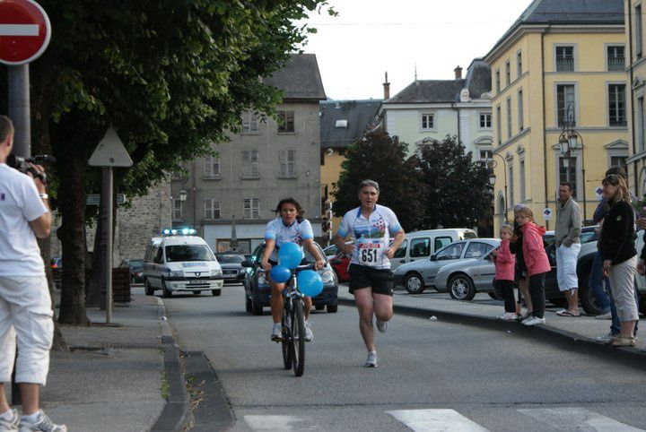 31 équipes ont participé au challenge Run & Bike proposé aux entreprises locales à l'occasion de la Fête nationale du Vélo.  Photos : P.Dompnier, J.Tracq