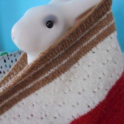 Tricot : Le 3 color cowl de Joji... en laine Soft+ Phildar