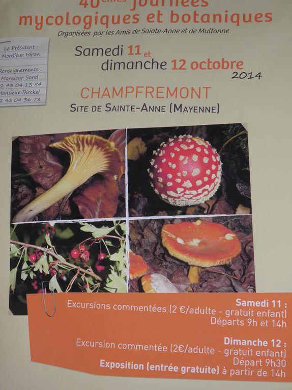 Quelques images du samedi après-midi à Sainte-Anne de Champfrémont.