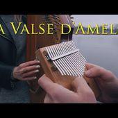 Yann Tiersen - La Valse d'Amelie (Bandura and Kalimba Cover)