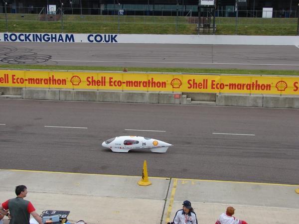 Shell Eco-Marathon anglais les 2 et 3 juillet 2008.