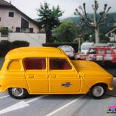 RENAULT 4L PTT 1961 DINKY TOYS 1/43 - car-collector.net