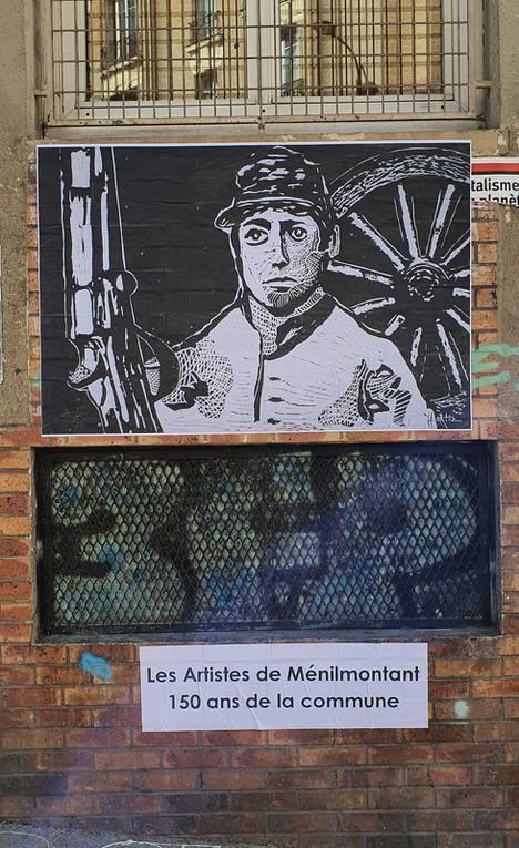 Les 150 de la Commune par les artistes de Ménilmontant