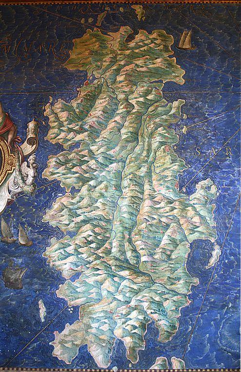 Sur la mer Adriatique il écrit avec un rameau d'olivier
