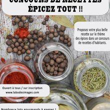 Concours de recettes : les épices en cuisine