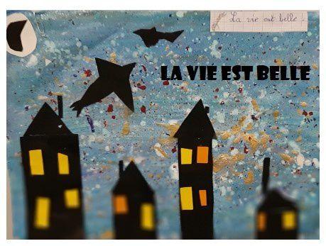 Arts visuels en CE1 : la nuit