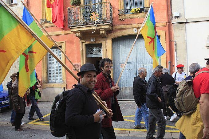 manif pour l'occitan à Carcassonne en 2009. Photos Pellet Jean-Marc
