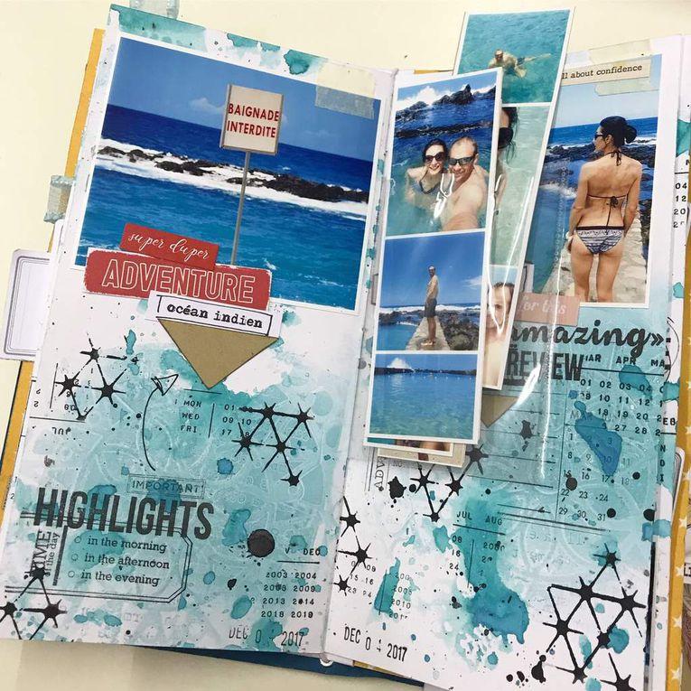 Album Travel Note Book
