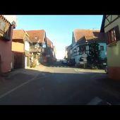 Goldwing Unsersbande direction marché de Noel Ribeauvillé 7
