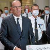 """Jean Castex en visite au CHU de Montpellier : """"Nous devons réagir vigoureusement"""""""