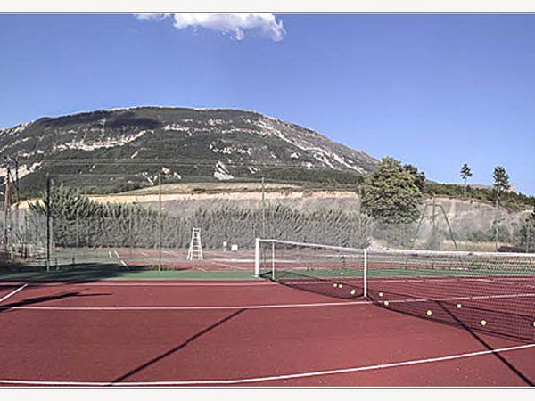 Saint André les Alpes:  Nos tennis sont rafraîchis