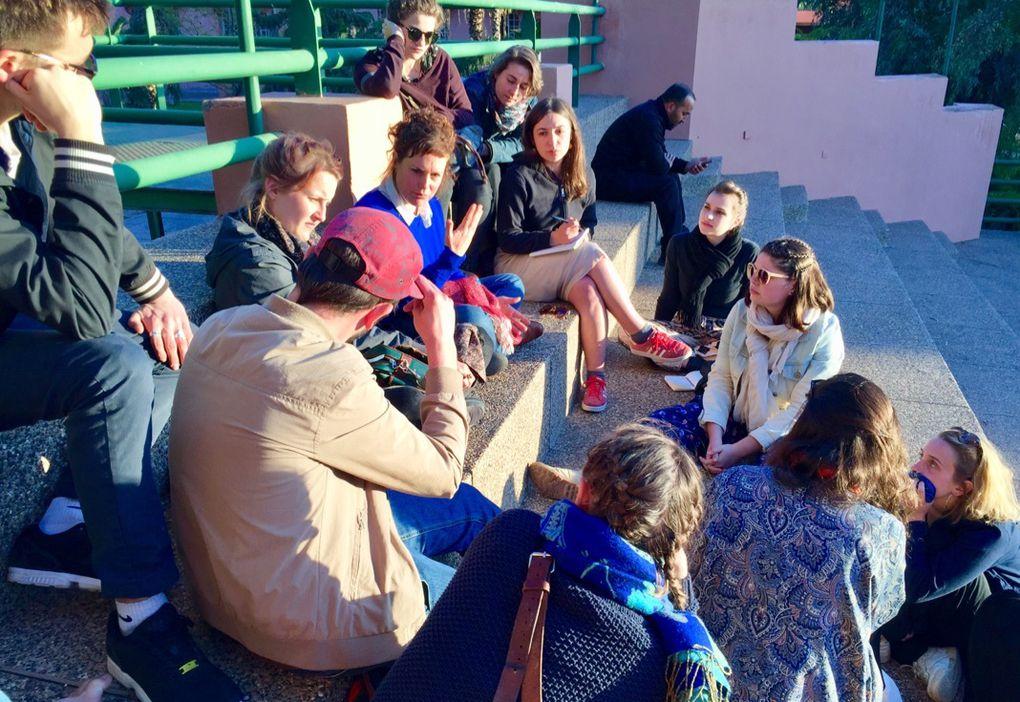 Danser la ville : voyage d'étude à Marrakech