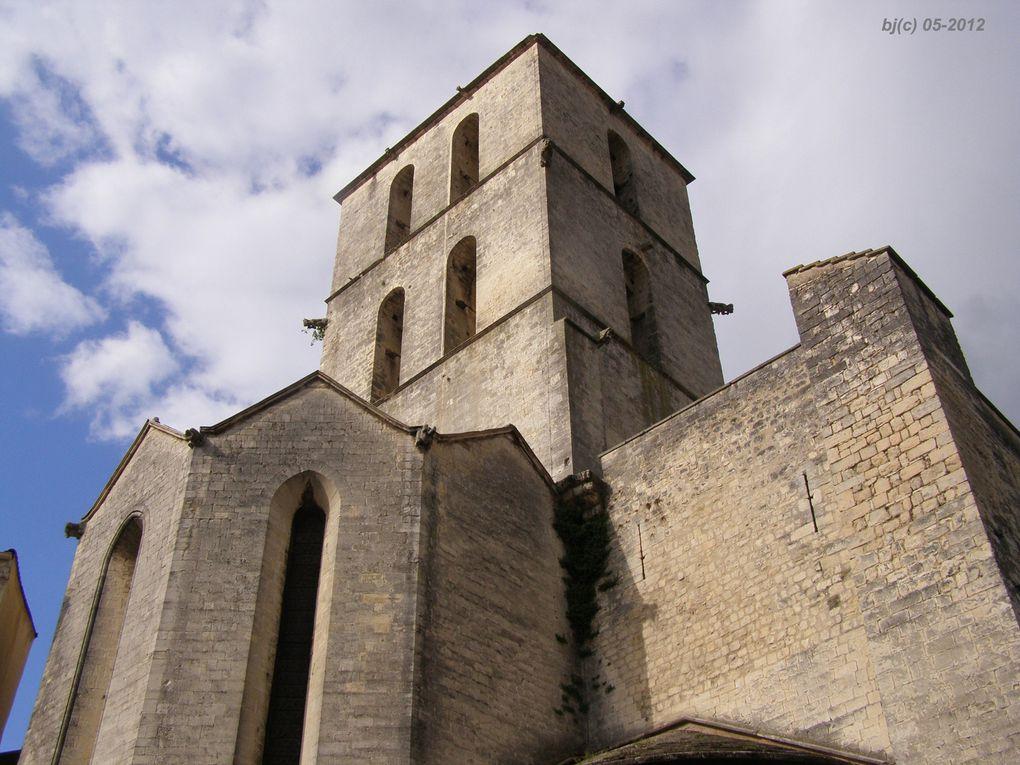 FORCALQUIER - Cathédrale NOTRE DAME du BOURGUET - bj(C) photos